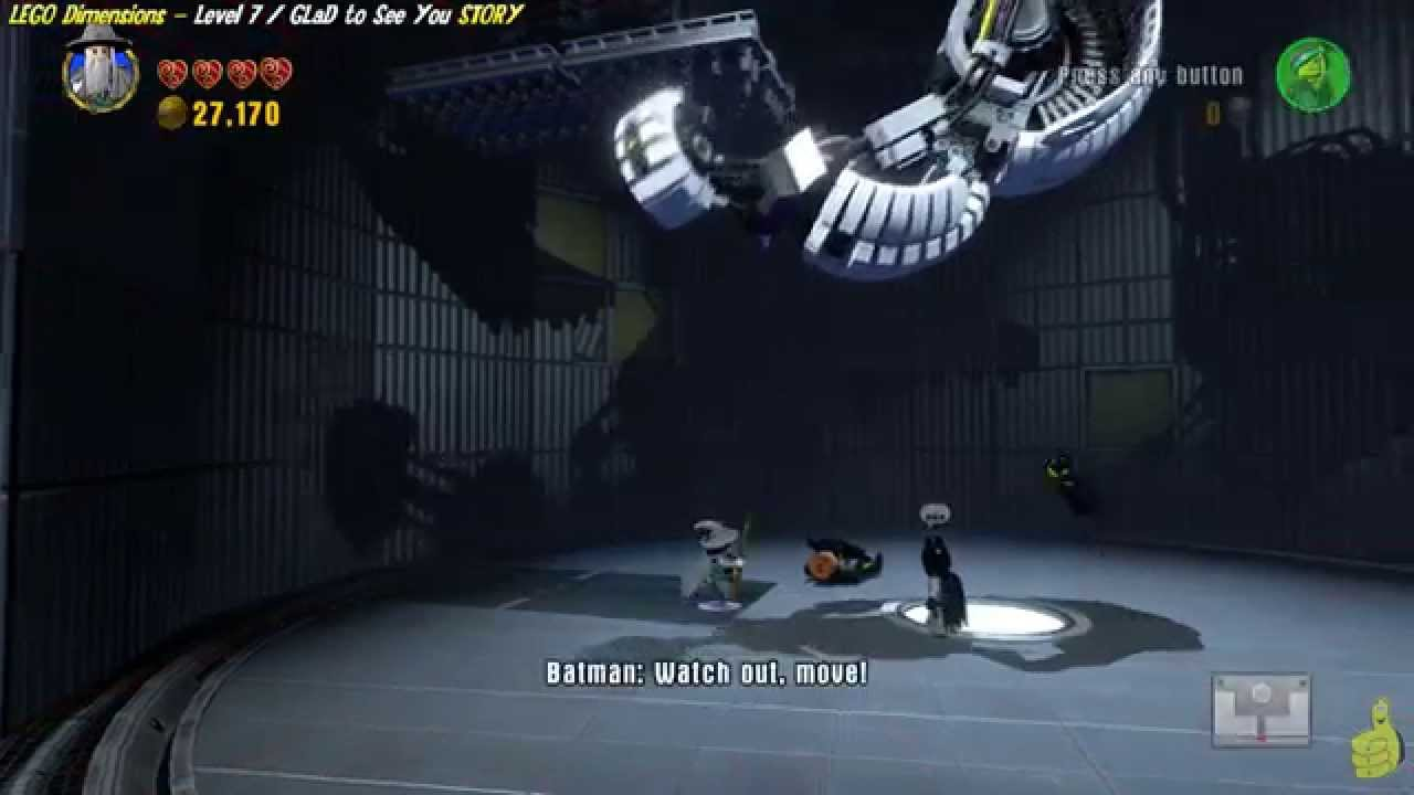 Lego Dimensions: Lvl 7 GLaD to See You STORY/GLaD to be out of There Trophy/Achievement – HTG
