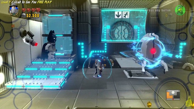 Lego Dimensions: Lvl 7 GLaD to See You FREE PLAY (All Starter Pack Minikits) – HTG