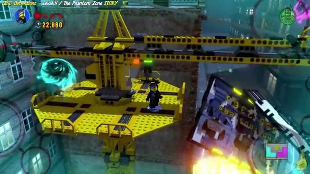 Lego Dimensions: Lvl 9 The Phantom Zone STORY/Ghost…Busted! Trophy/Achievement – HTG