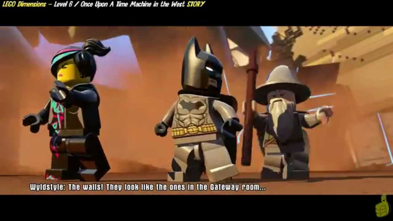 Lego Dimensions: Lvl6 Once Upon aTime Machine STORY/Interdimensional Showdown Trophy/Achievement-HTG