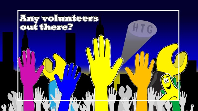 Want to volunteer? – HTG