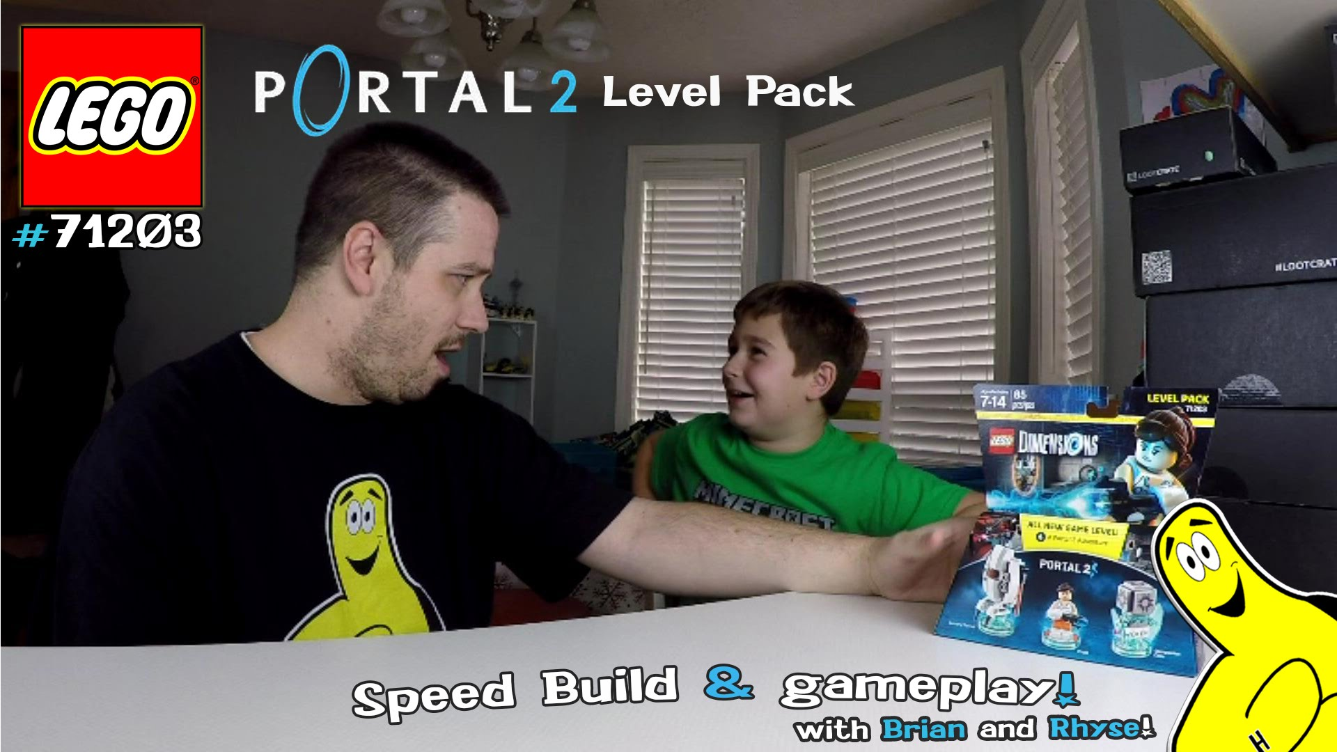 Lego Dimensions: #71203 Portal 2 LEVEL Pack Unboxing/SpeedBuild/Gameplay – HTG