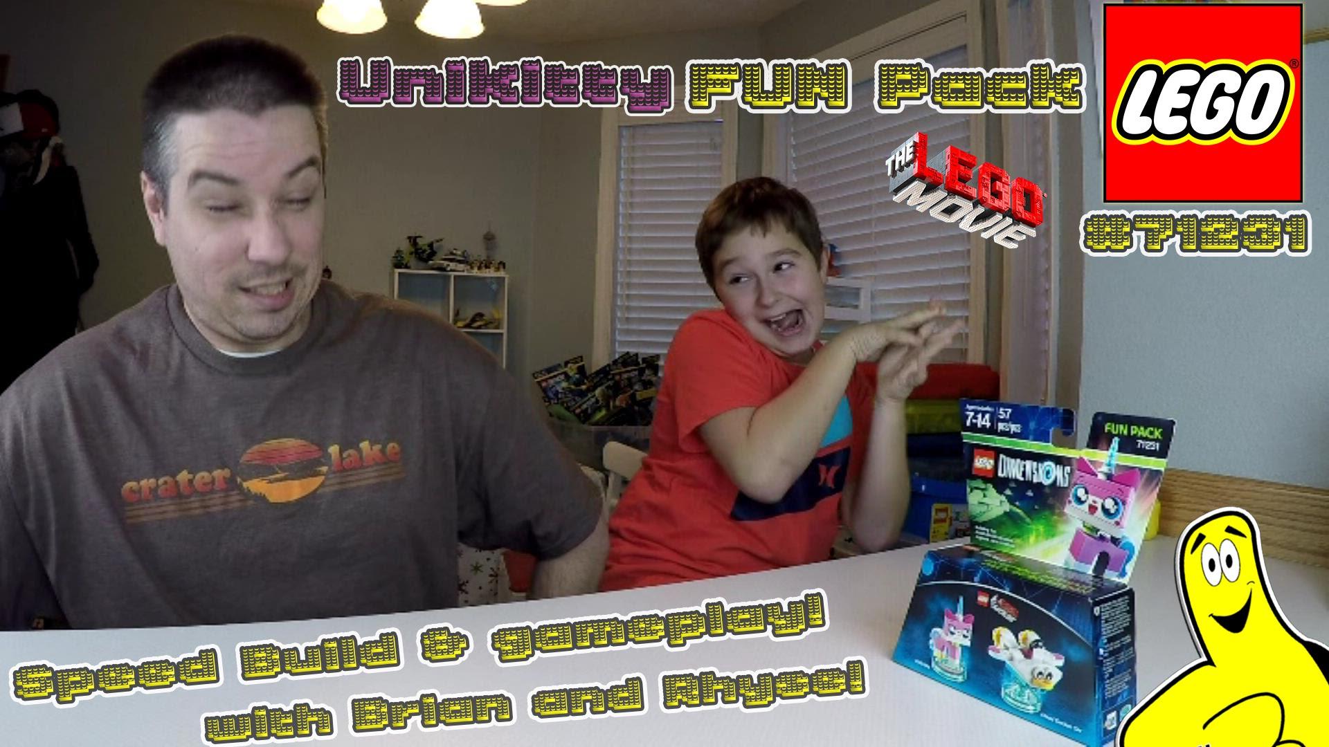 Lego Dimensions: #71231 Unikitty FUN Pack Unboxing/SpeedBuild/Gameplay – HTG