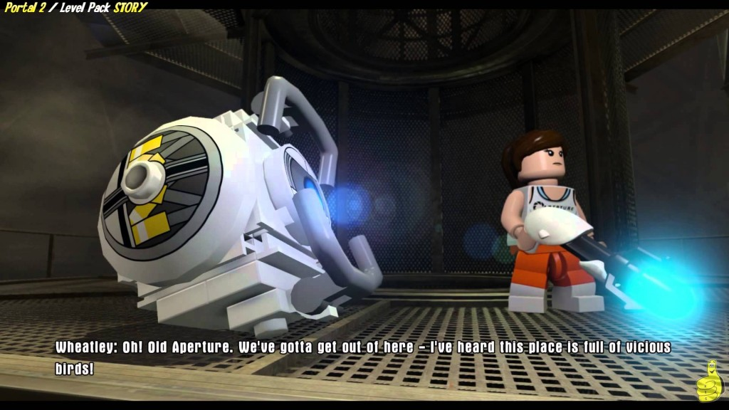 Lego Dimensions Portal 2 Level Pack Story It S Been Fun Don T Come Back Trophy Achievement