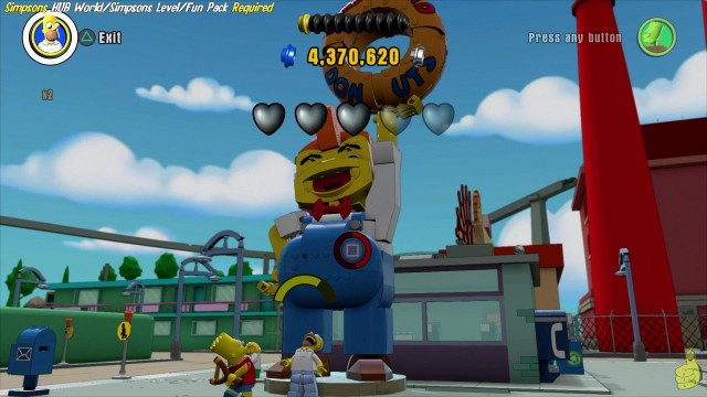 Lego Dimensions: Tour Through Lego Springfield World Hub – HTG