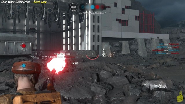 Star Wars Battlefront: First Look 25 Minutes of Gameplay – HTG