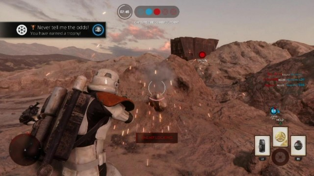 "Star Wars Battlefront: ""Never Tell Me The Odds!"" Trophy/Achievement – HTG"