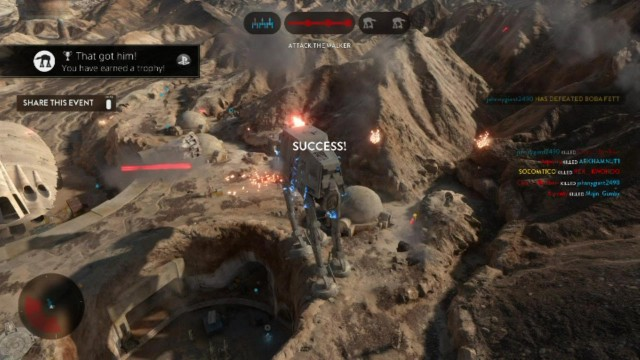 "Star Wars Battlefront: ""That Got Him!"" Trophy/Achievement – HTG"
