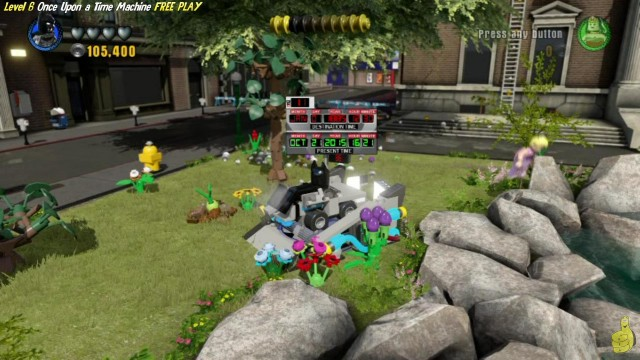 Lego Dimensions: Once Upon a Time Machine FREE PLAY (All 10 Minikits and Minifig in Peril) – HTG