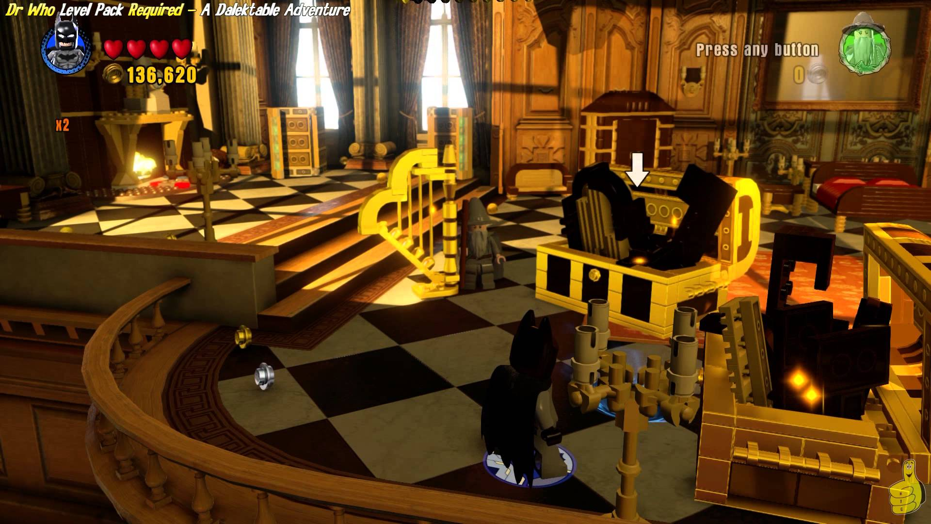 Lego Dimensions: The Palace of Versailles Doctor Who Easter Egg – HTG