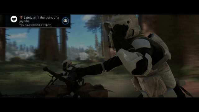 "Star Wars Battlefront: ""Safety ain't the point of the joyride"" Trophy/Achievement – HTG"