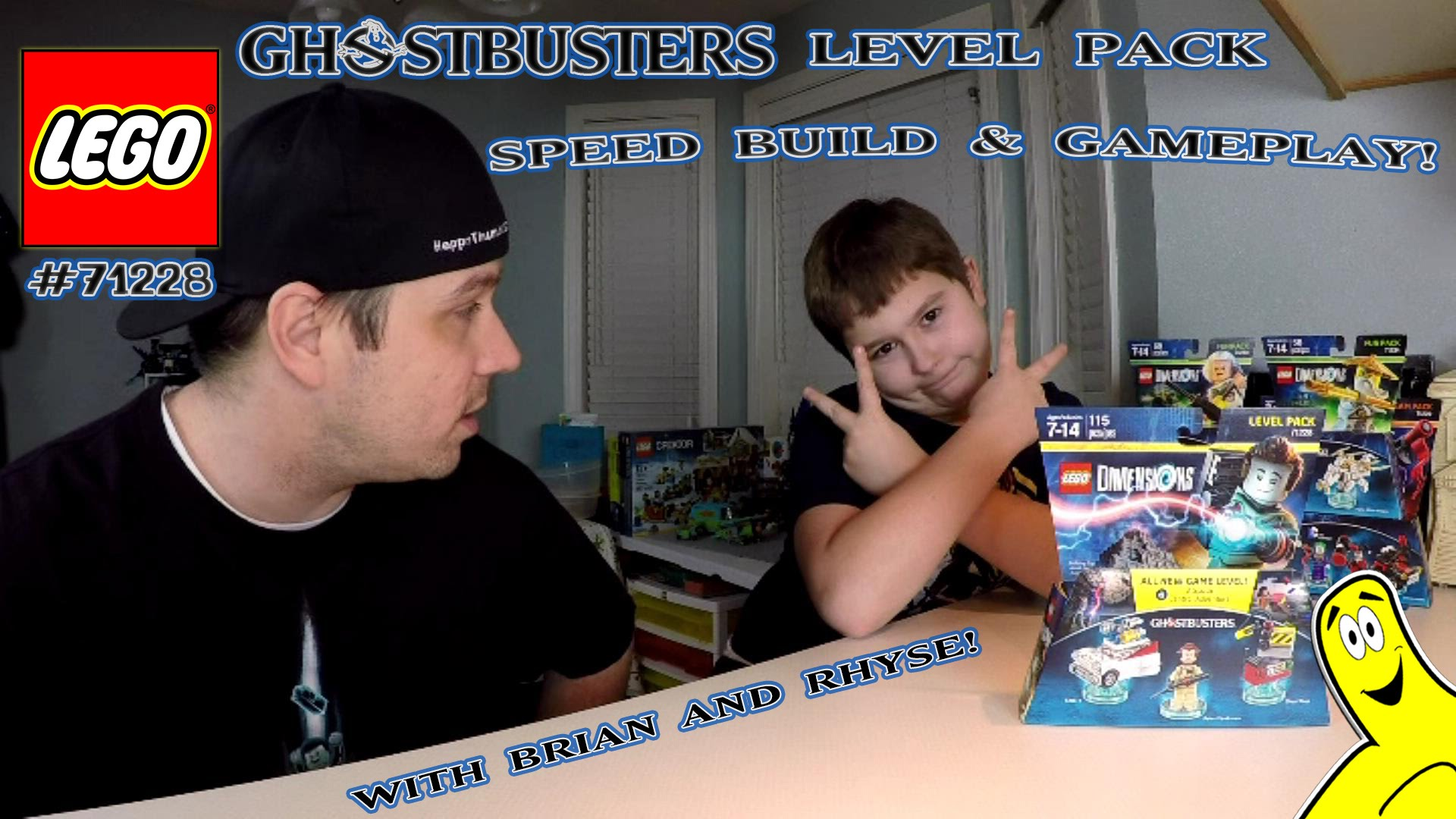 Lego Dimensions: #71228 Ghostbusters Level Pack Unboxing/SpeedBuild/Gameplay – HTG