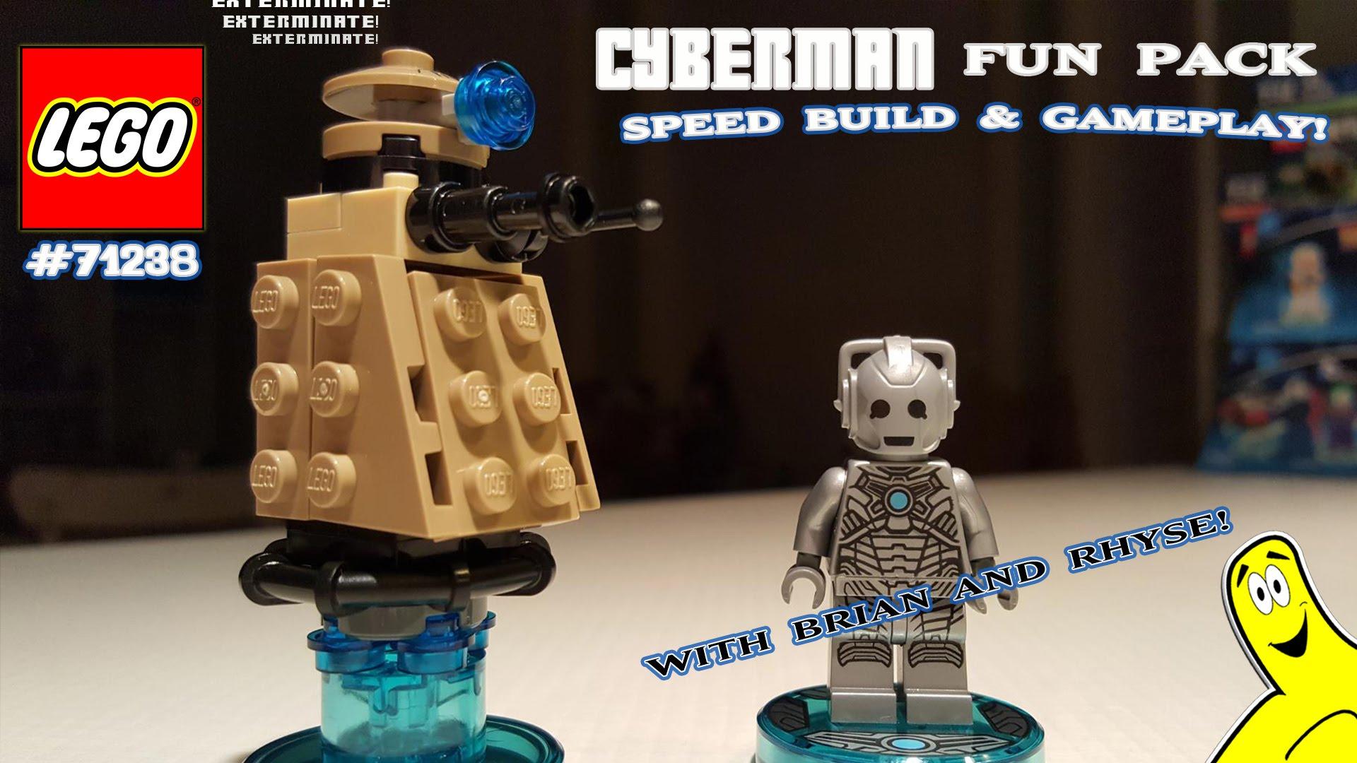 Lego Dimensions: #71238 Cyberman Unboxing/SpeedBuild/Gameplay – HTG