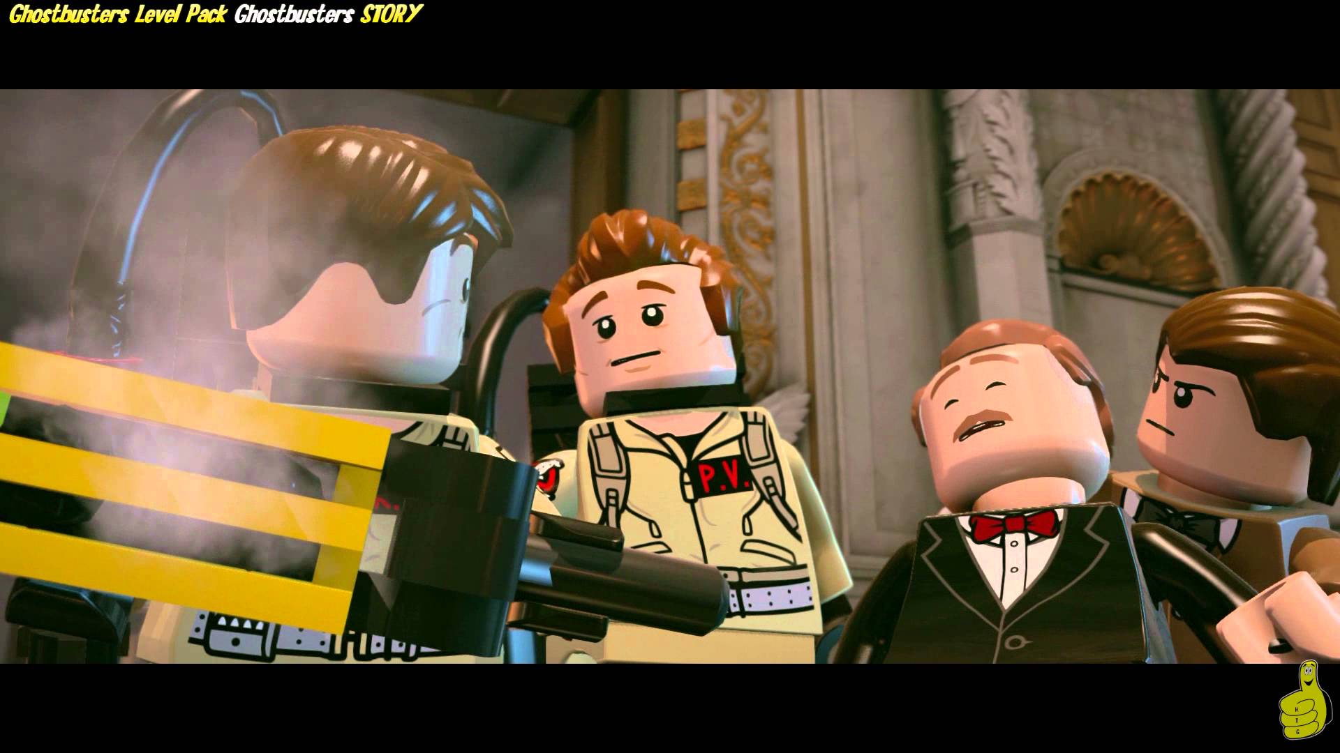 Lego Dimensions: Ghostbusters Level Pack STORY/I ain't Afraid of No Ghost Trophy/Achievement – HTG
