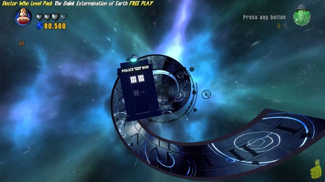 Lego Dimensions: The Dalek Extermination of Earth FREE PLAY(All 10 Minikits & Minifig In Peril)- HTG