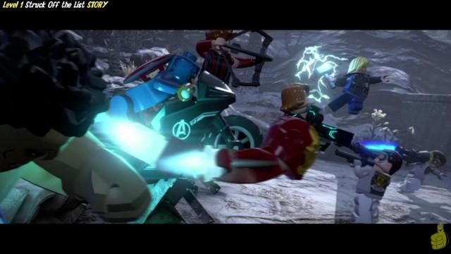 Lego Marvel Avengers: Level 1 STORY/Struck Off the List Trophy/Achievement – HTG