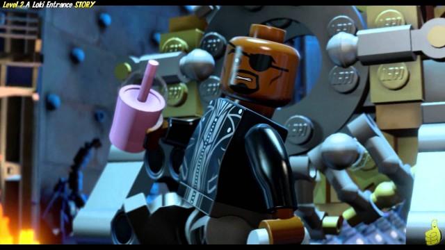 Lego Marvel Avengers: Level 2 STORY/A Loki Entrance Trophy/Achievement – HTG