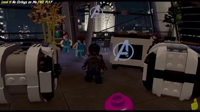 Lego Marvel Avengers: Lvl 11 / No Strings on Me FREE PLAY (All Collectibles) – HTG