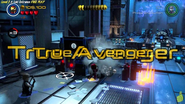 Lego Marvel Avengers: Lvl 2 / A Loki Entrance FREE PLAY (All Collectibles) – HTG