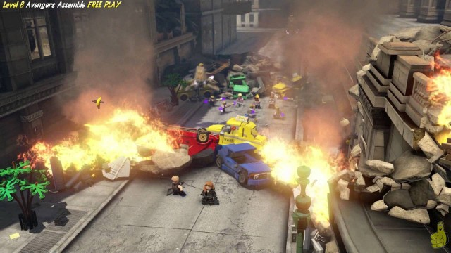 Lego Marvel Avengers: Lvl 6 / Avengers Assemble FREE PLAY (All Collectibles) – HTG