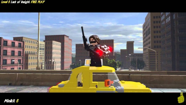 Lego Marvel Avengers: Lvl 8 / Lack of Insight FREE PLAY (All Collectibles) – HTG