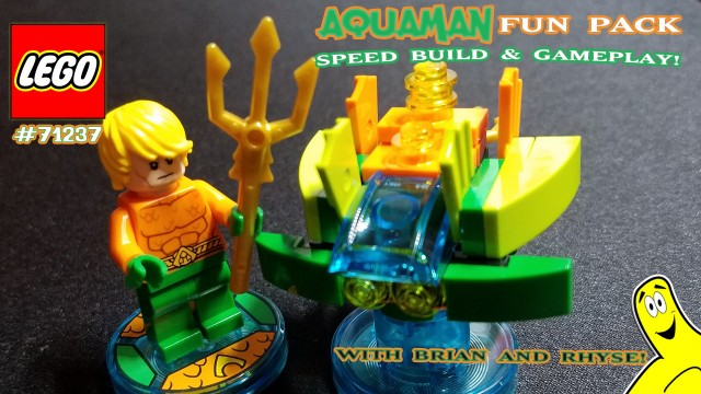 Lego Dimensions: #71237 Aquaman Unboxing/SpeedBuild/Gameplay – HTG