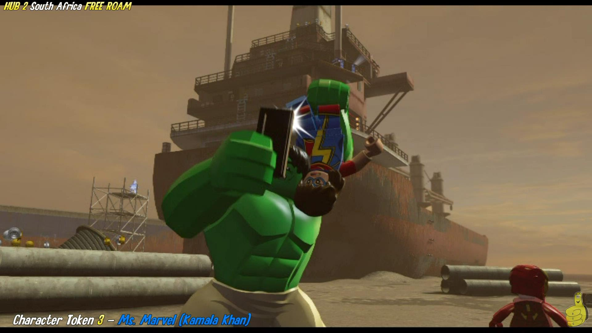 Lego Marvel Avengers Hub 2 South Africa Free Roam All Collectibles Htg Happy Thumbs Gaming
