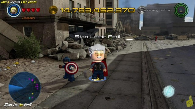 Lego Marvel Avengers: HUB 4 / Sokovia FREE ROAM (All Collectibles) – HTG