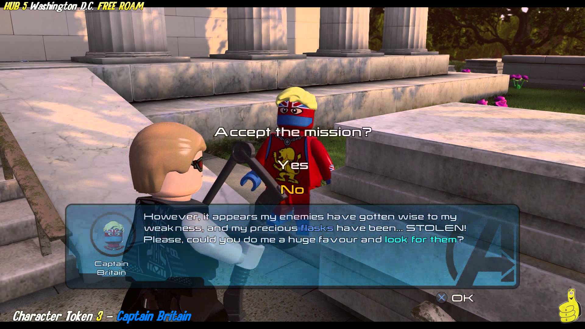 Lego Marvel Avengers Hub 5 Washington D C Free Roam All Collectibles Htg Happy Thumbs Gaming