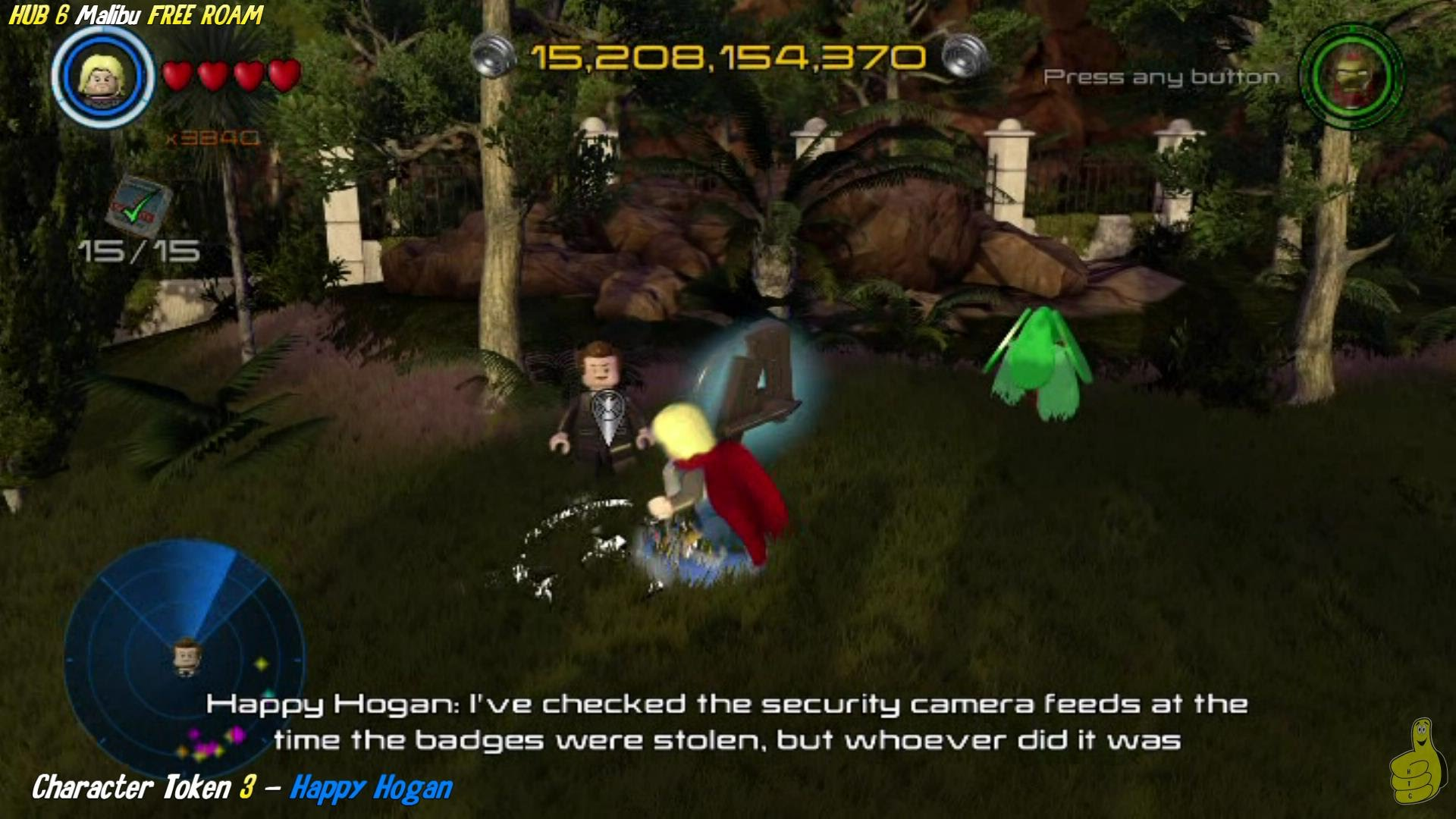 Lego Marvel Avengers: HUB 6 / Malibu FREE ROAM (All Collectibles) – HTG