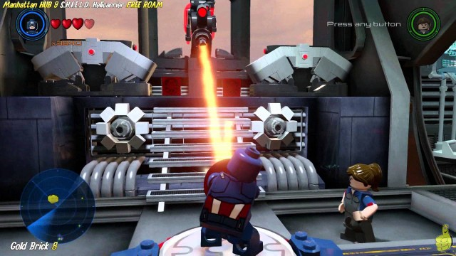Lego Marvel Avengers: Manhattan HUB 9 / S.H.I.E.L.D. Helicarrier FREE ROAM (All Collectibles) – HTG