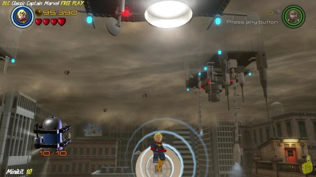 Lego Marvel Avengers: DLC Classic Captain Marvel FREE PLAY (All Collectibles) – HTG