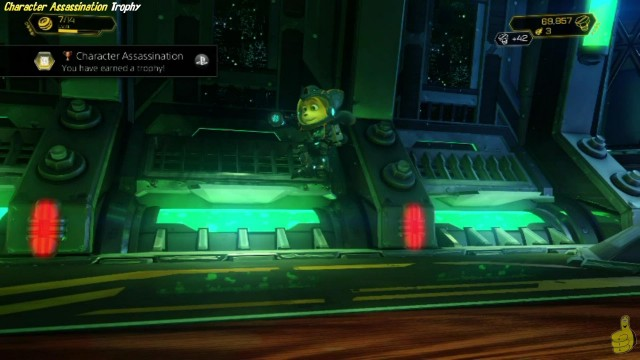 "Ratchet & Clank: ""Character Assassination"" Trophy – HTG"