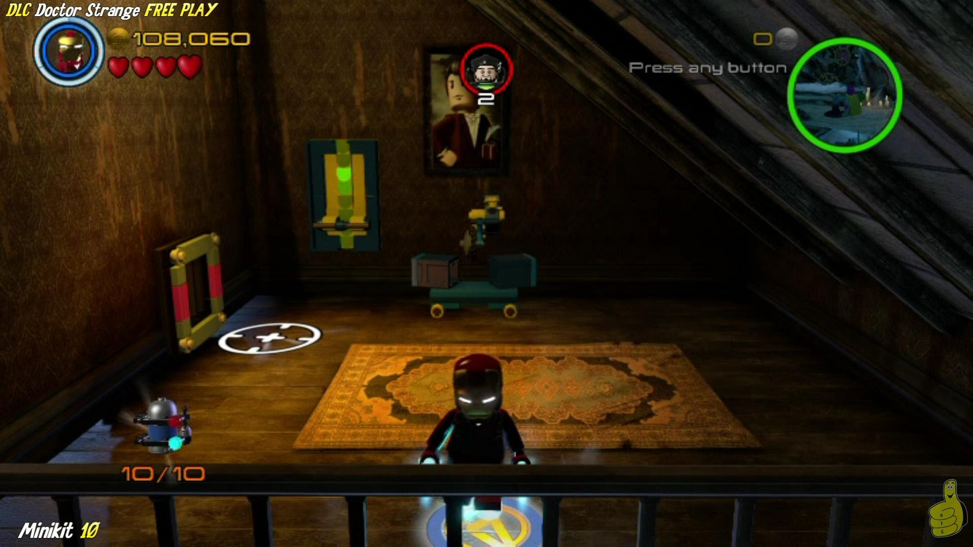 Lego Marvel Avengers: DLC Doctor Strange FREE PLAY (All Collectibles) – HTG