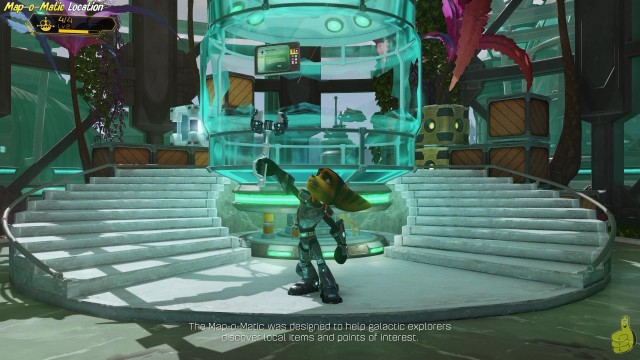 Ratchet & Clank: Map-O-Matic Location (Collectible detector cheat) – HTG