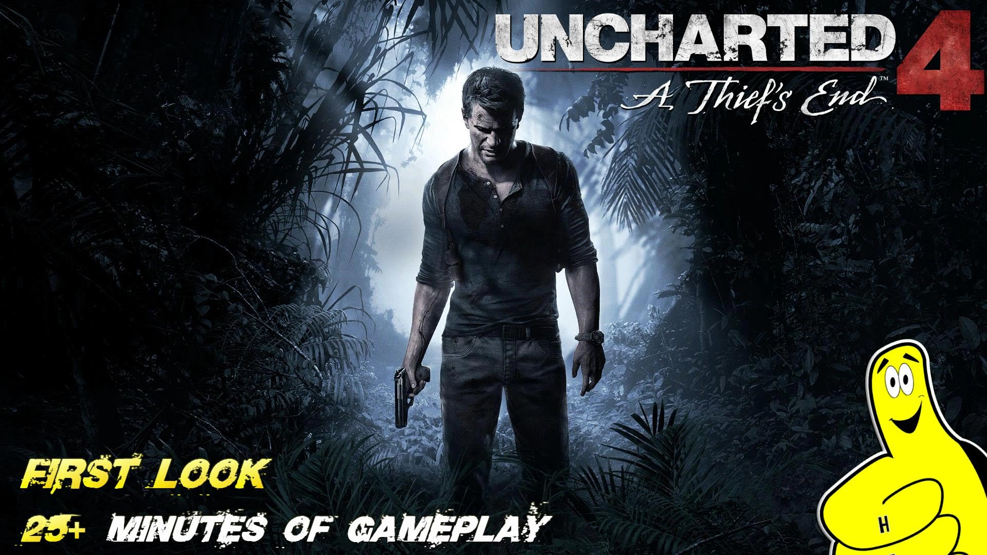 Uncharted 4: First Look 25+ Minutes of Uncharted 4 Gameplay (Prologue & Chap 1) – HTG