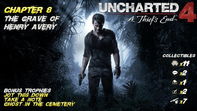 Uncharted 4: Chap. 8 The Grave of Henry Avery (All Collectibles) – HTG