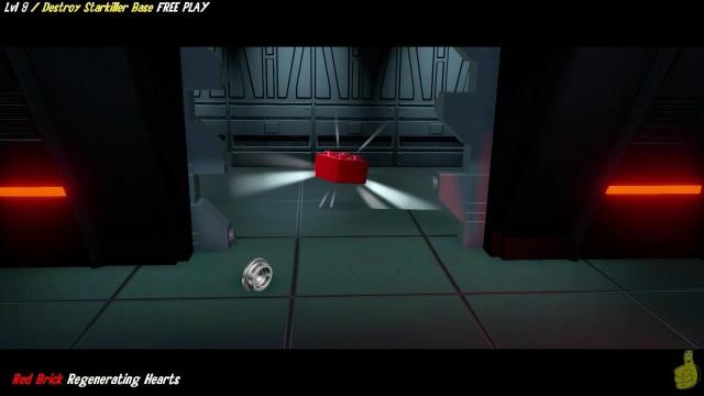 Lego Star Wars The Force Awakens: 9/ Destroy Starkiller Base FREE PLAY (All Minikits & Red Brk)- HTG