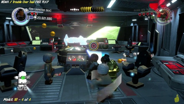 Lego Star Wars The Force Awakens: NSWA / Trouble Over Taul FREE PLAY (All Minikits & Red Brick)- HTG