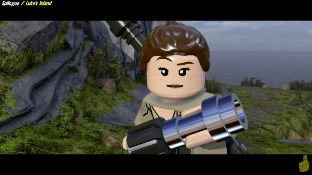 Lego Star Wars The Force Awakens: Epilogue / Luke's Island STORY – HTG