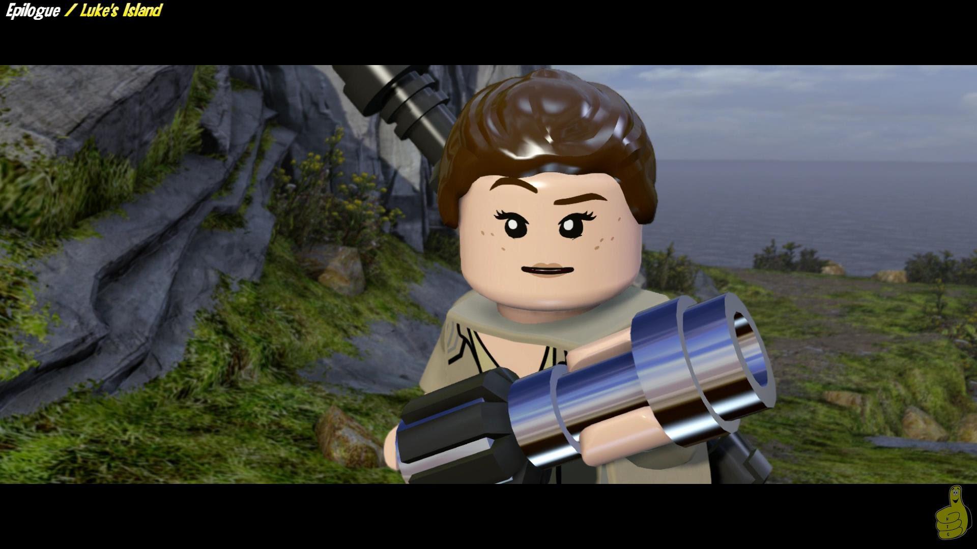 Lego Star Wars The Force Awakens: Epilogue / Luke's Island STORY – HTG
