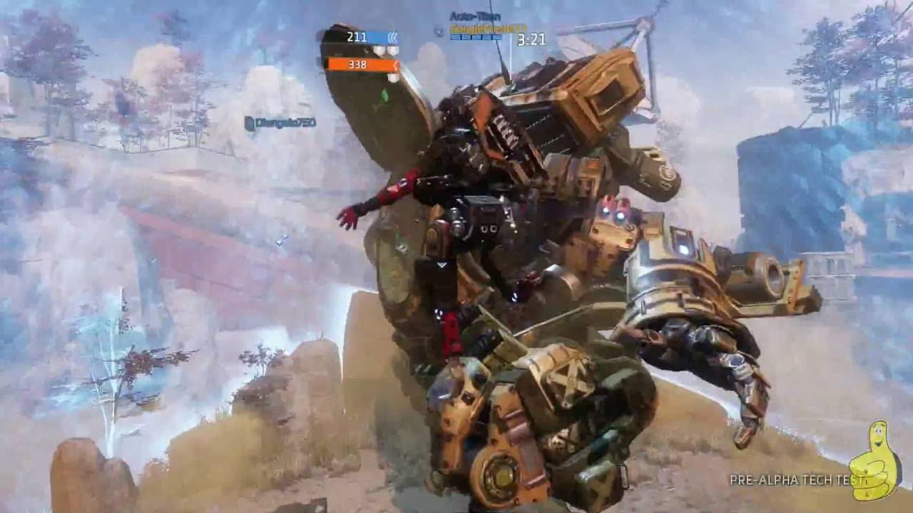 Titanfall 2: Pre Alpha Tech Test (Amped Hardpoint) Gameplay – HTG