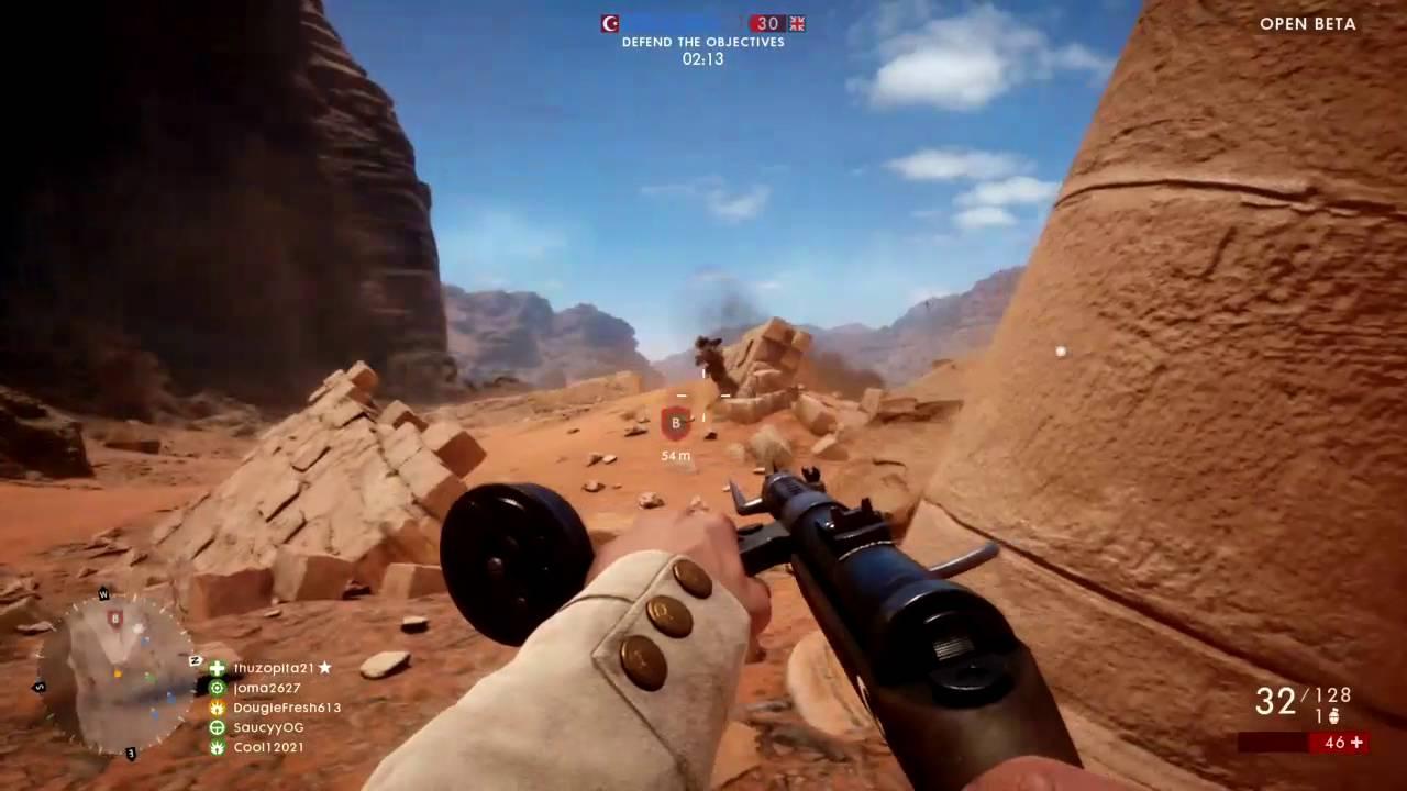 Dougie Plays: Battlefield 1 Open Beta (PS4) – HTG