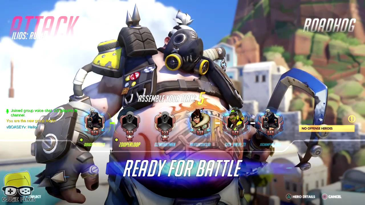 Dougie Plays: Overwatch to Prepare for Season 2 Competitive (PS4) – HTG
