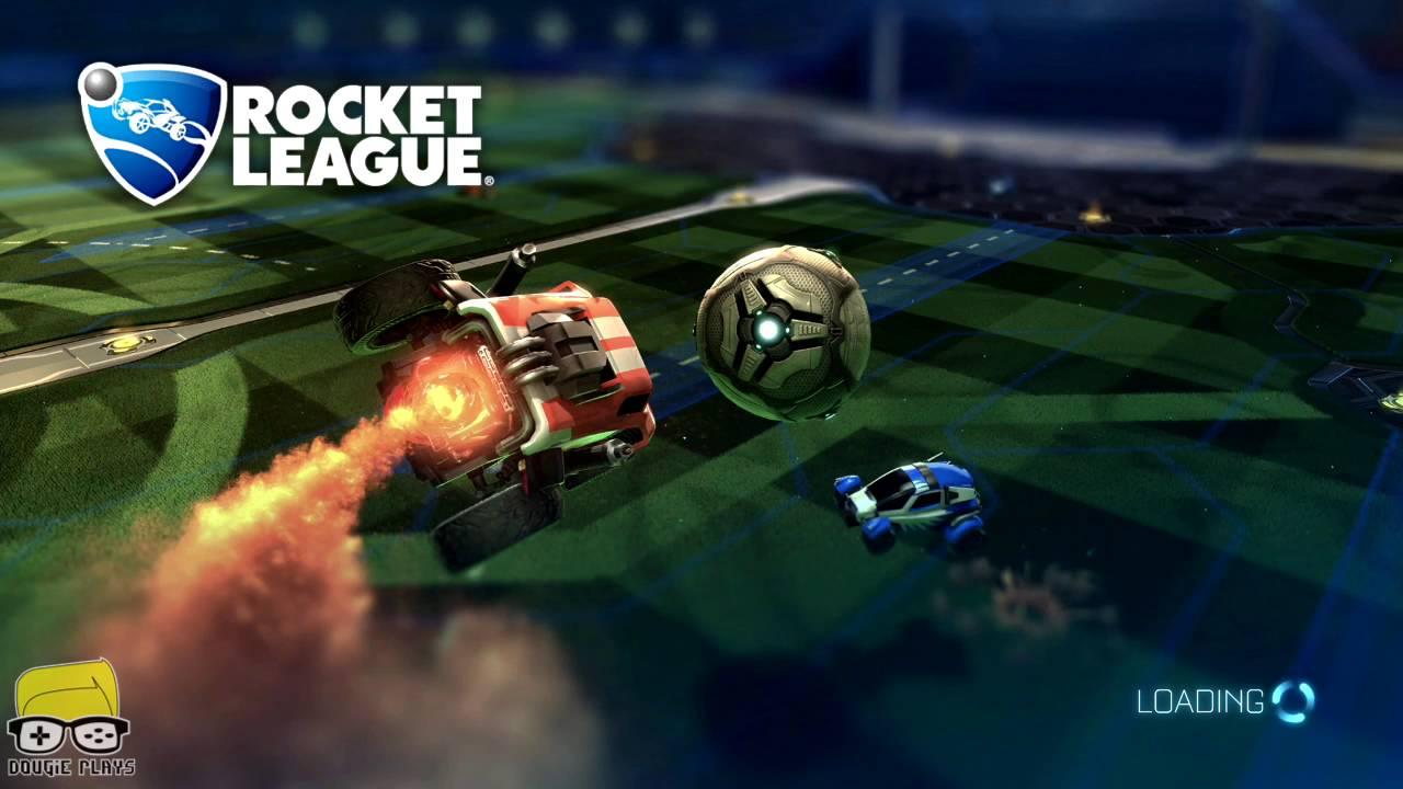 Dougie Plays: Rocket League Somewhat Good – HTG