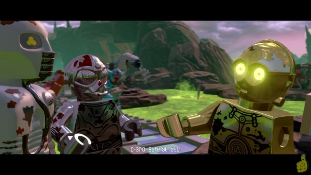 Lego Star Wars The Force Awakens: DLC The Phantom Limb STORY – HTG