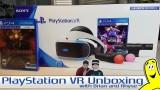 Gamebreak: PlayStation VR Launch Bundle Unboxing – HTG