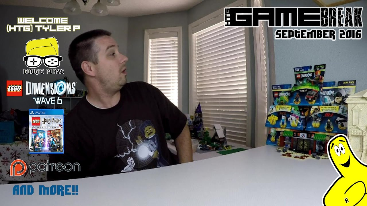 Gamebreak: September 2016 with Brian – HTG