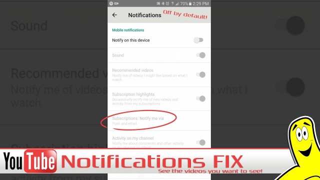 Gamebreak: YouTube Notifications Fix (Get notified when you are subscribed) – HTG