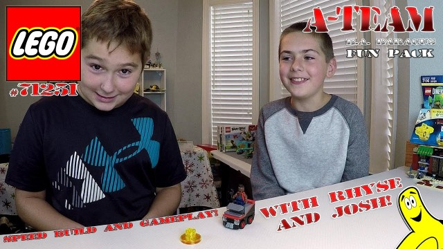 Lego Dimensions: A-Team B.A. Baracus FUN Pack #71251 Unboxing, Speed Build & Gameplay – HTG